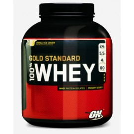 100% NATURAL WHEY GOLD STANDARD VAINILLA DE ON