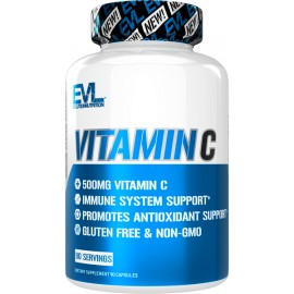 VITAMINA C 90 CAPS EVL NUTRITION